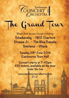 Grand Tour Poster A5