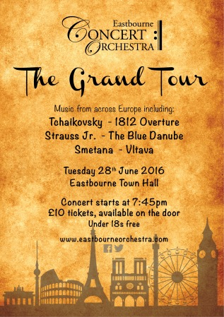 Grand Tour Poster A5