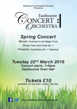 Spring Concert Poster A5