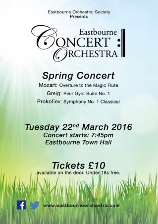 Spring Concert Poster A5