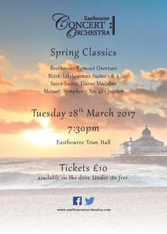 Spring Concert Poster 2017 - A4